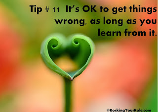 its okay to be wrong as long as you learn from it