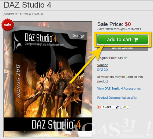DAZ 3D Studio 4 Original Full Free 2