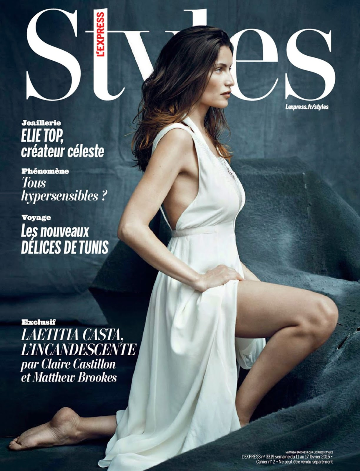 Actress, Supermodel: Laetitia Casta - L'Express Styles France