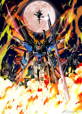 Mobile Suit Gundam Seed Destiny HD new art