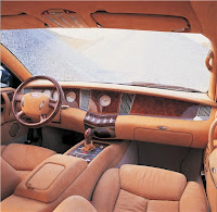 first bugatti veyron by volkwagen-interior