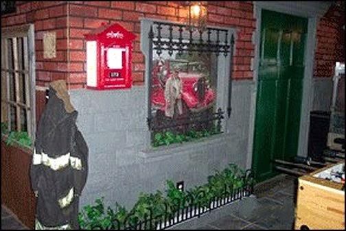 Firehouse theme bedroom decorating ideas  man cave firefighter themeDecorating theme bedrooms   Maries Manor  fire truck bedroom decor  . Firefighter Room Decorations. Home Design Ideas