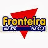 ouvir a Rádio Fronteira FM 94,3 Dionísio Cerqueira SC