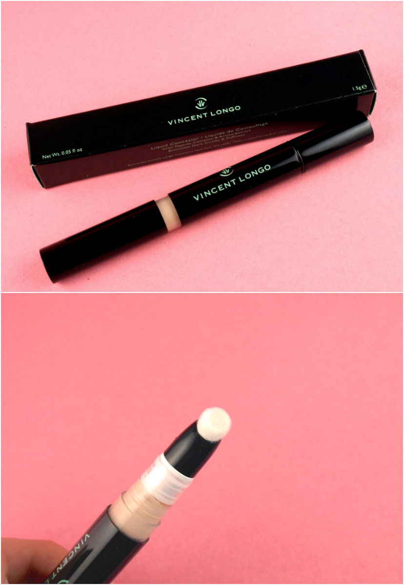 "Vincent Longo Perfect Canvas Liquid Concealer in ""Fair"" ($28):"