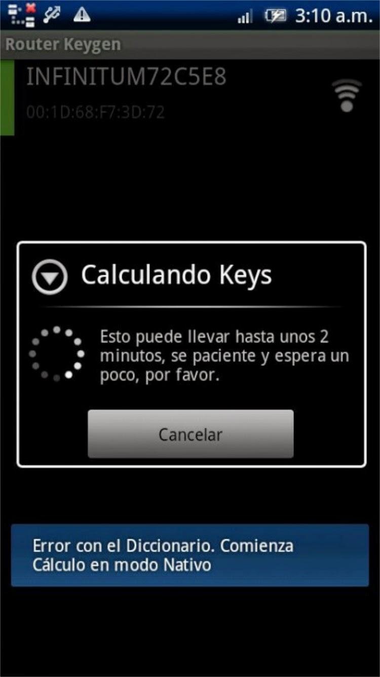 Router Keygen تطبيق معرفة باسورد الراوتر علي الاندرويد