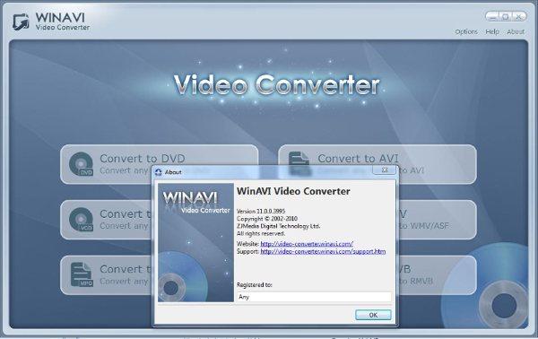 Crack : http:// Обновилась WinAVI Video Converter, мощная и