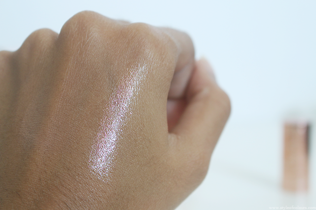 Catrice Lumination Lipstick in Radiant Rose Review and Swatch