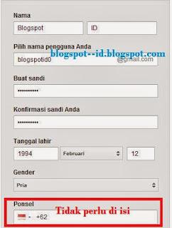 Membuat Email Gmail Gratis Tanpa Verifikasi