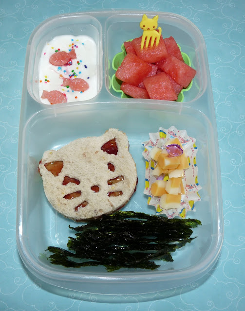 cutezcute kitty easylunchboxes bento