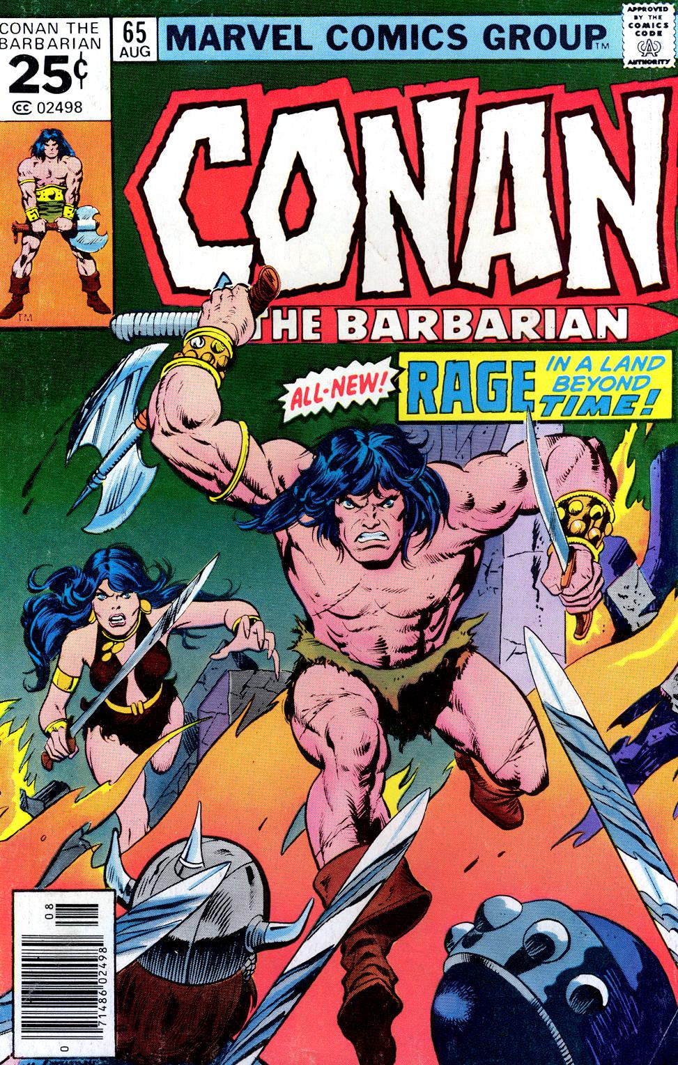Conan the Barbarian (1970) Issue #65 #77 - English 1