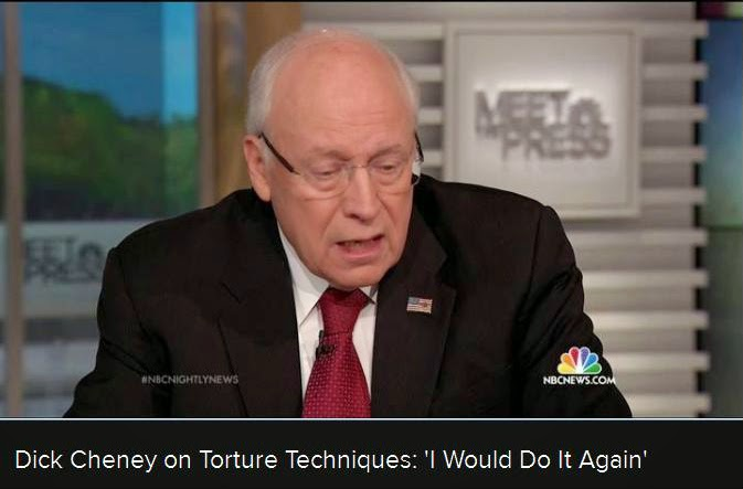 Dick Cheney defends torture on Meet the Press (12/14/14)