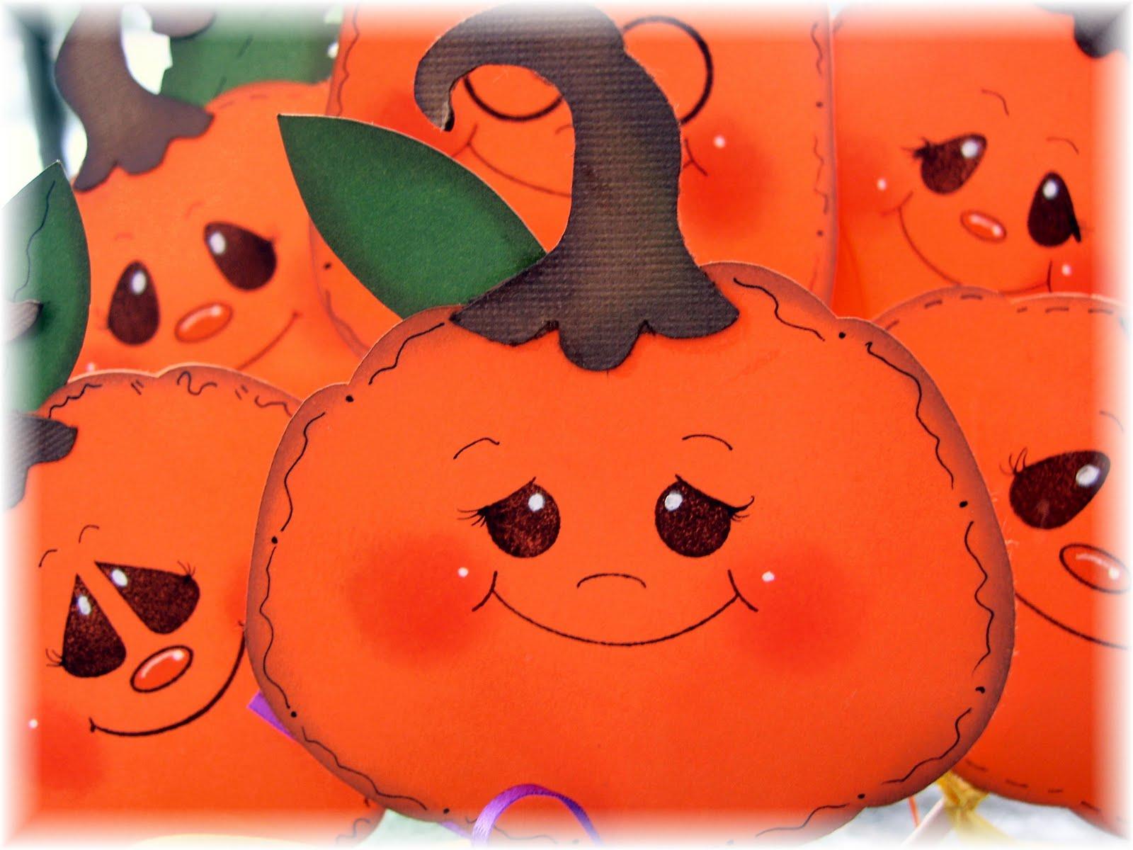 artandscraps pumpkin pokes