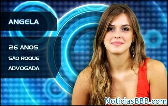 Angela Moraes BBB14 melhores Flagras