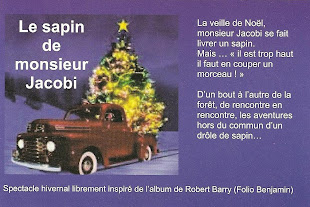 le sapin de Mr Jacobi