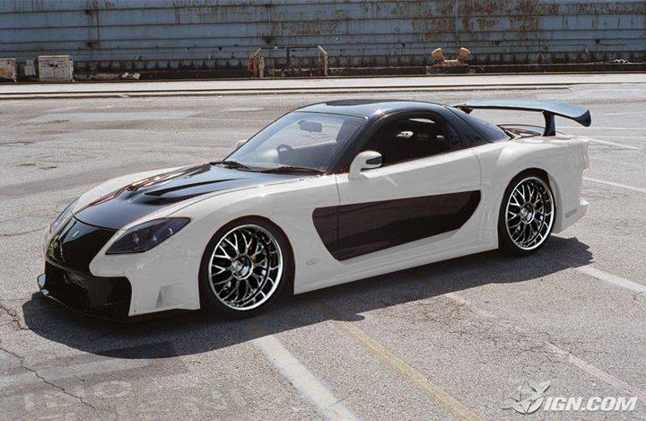 Midnight Garage Bodykit Centre Mazda Rx7 Veilside Fortune Bodykit