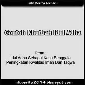 Contoh Khutbah Idul Adha 2014