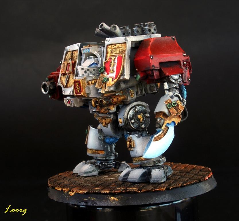 Arma Némesis del Dreadnought Mark IV de los Caballeros Grises