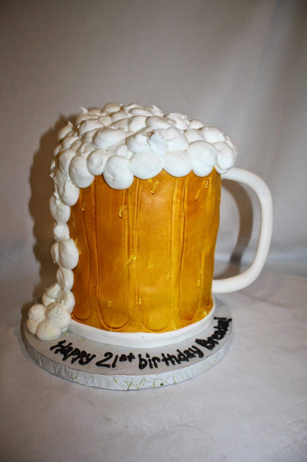 Hock Cakes LLC Beer Mug Cake