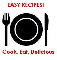 cook eat delicious button