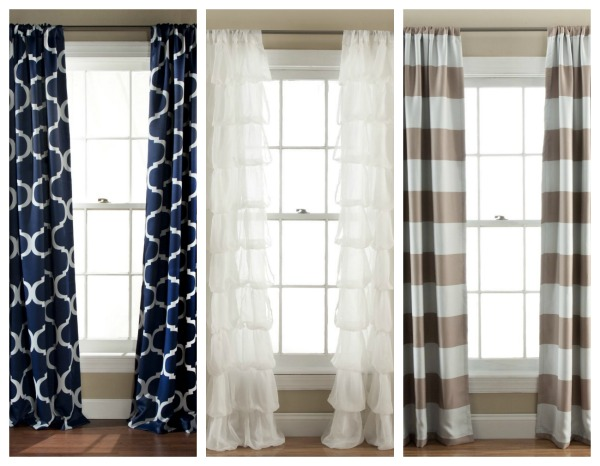 maybe all your bedroom update needs is a pair of great new curtains these are only