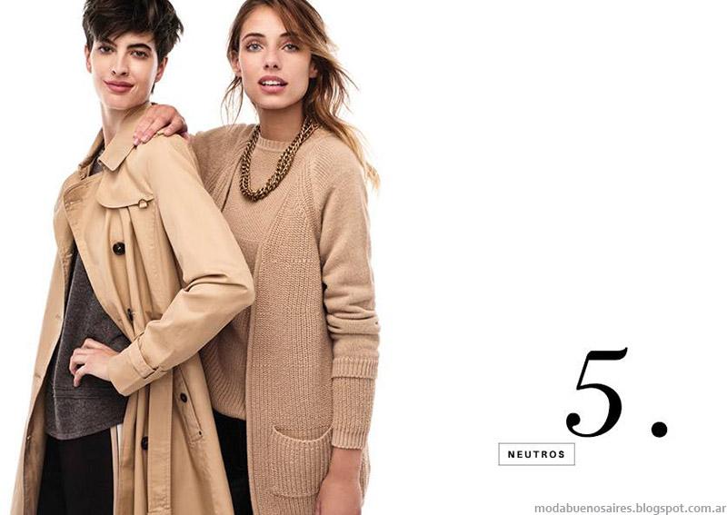 Abrigos y ropa de moda otoño invierno 2015 Portsaid.