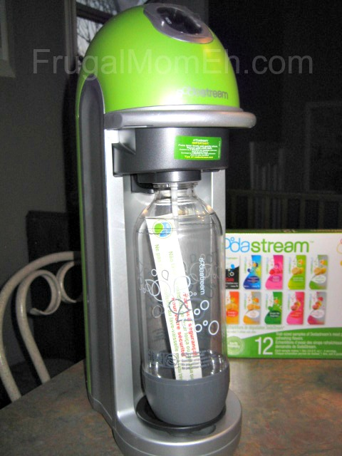 how to make club soda with sodastream