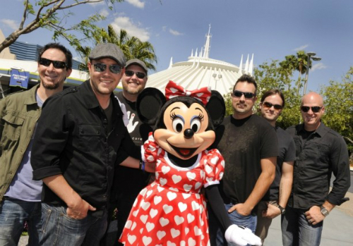 Minnie Mouse, MercyMe and Tim Timmons.