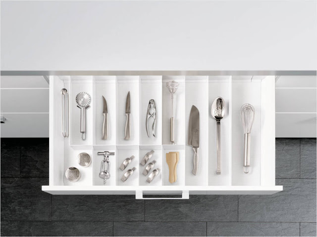 Home Interiors The Kitchen Cutlery Drawer