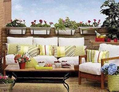 Ideas decorar terraza aprender hacer bricolaje casero - Ideas decoracion terraza ...