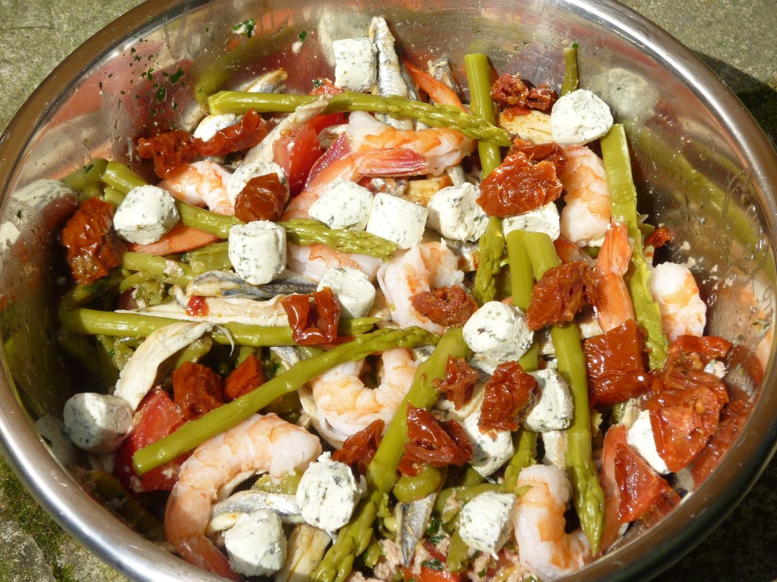 maman plus mon journal de bord salade haricots verts thon crevettes anchois. Black Bedroom Furniture Sets. Home Design Ideas