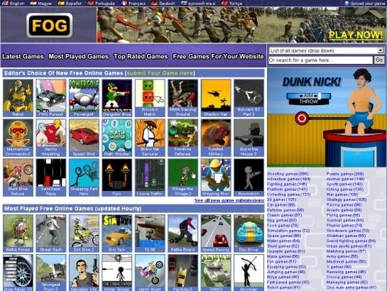 top 5 free games sites
