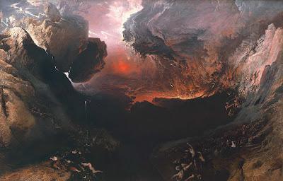 L'Apocalisse descritta dal pittore inglese John Martin