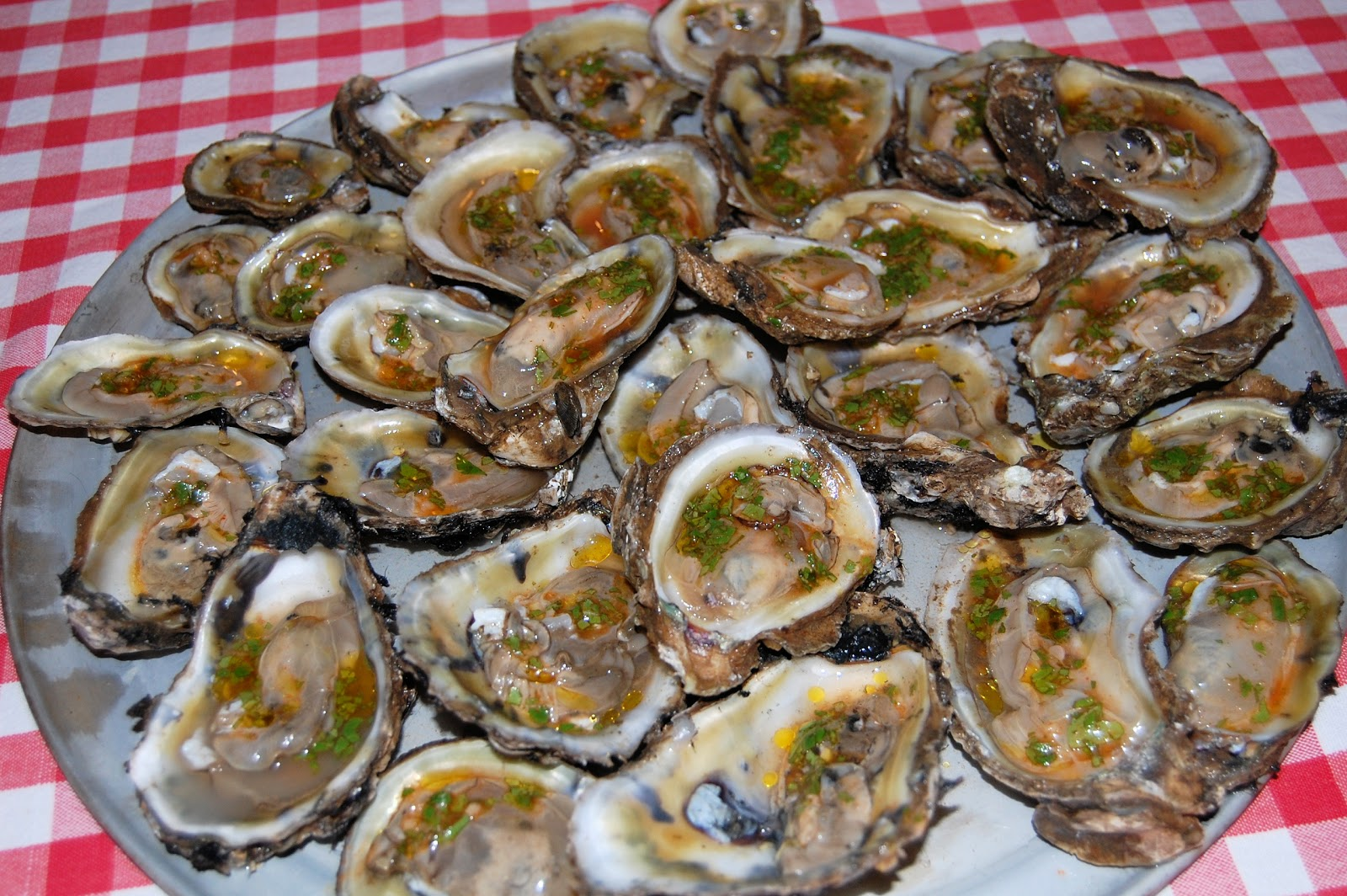 Grilled Oysters with Chipotle Chermoula | We Like to Cook!