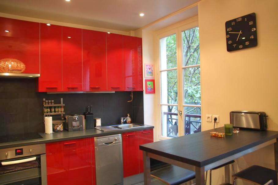 idee deco cuisine chaleureuse modele cuisine. Black Bedroom Furniture Sets. Home Design Ideas