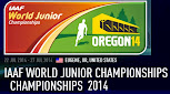 Mundial Junior de atletismo (Eugene, Oregon, EEUU, 22a27/jul/2014)