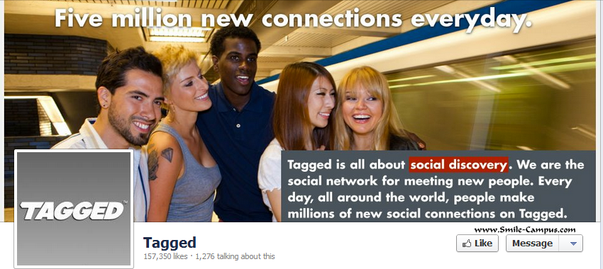Tagged.com Facebook Timeline Page