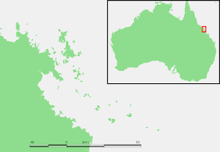 Whitsunday Islands map