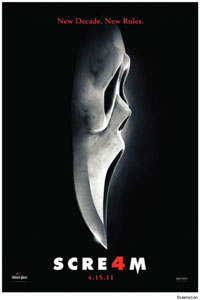 Cartel original de Scream 4