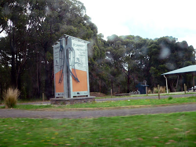 Town of Forrest, in the Otways