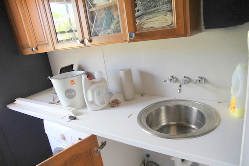 sink hook up washing machine