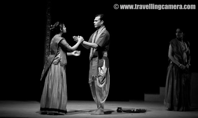 Baanbhatt ki Aatmakatha, Directed by M. K. Raina (@ Summer Theater Festival by National School of Drama Repertert Company) : Summer Theater Festival has started on 19th of may at National School of Drama and Baanbhatt ki Aatamakatha was the first play... Check out some of the photographs with relevant retails picked from brochure published by NSD Repertery Company :-Director M.K.Raina's Note :Between centuries and ages,Between countless battles and sufferings,The spirit of plurality,Woven by human souls,The poorest of the poor,Kings,The wretched of the earth,Believers and non-believers,Who ploughed the earth,That bears the seed of human unity,Which flowers,To reveal the future.Few things about M.K.Raina - Eminent theatre and media personality, M.K.Raina, graduated from National School of Drama in 1970. For last 35 years he has directed and acted in more than a hundred plays; has been associated with prominent directors of national and international repute; has acted in many award wining films; have produced and directed many television serials and translated and adapted several plays into Hindi.Artistic Director of Prayog, and Founder-member, sahmat, his major theatrical productions include KABIRA KHADA BAAZA MEIN, THREE SISTERS, MOTHER, EVAM INDRAJIT, BANBHATTA KI AATMAKATHA, amongst others.Mr. M.K. Raina is strong believer in