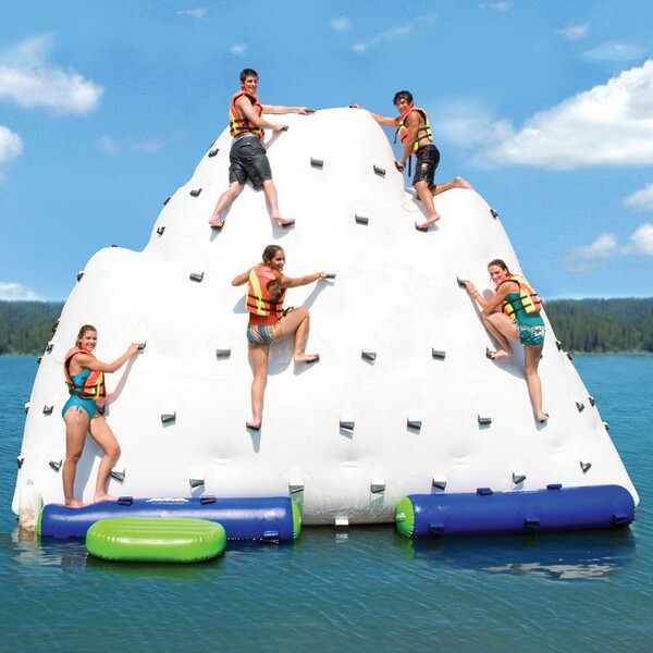 Gigantic Inflatable Climbing Iceberg