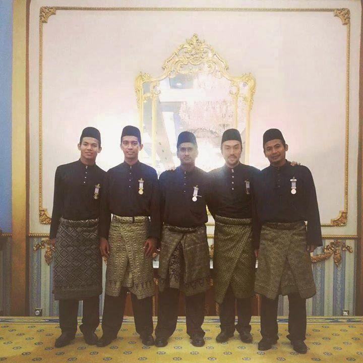 Pemain Kelantan Terima Pingat Setia