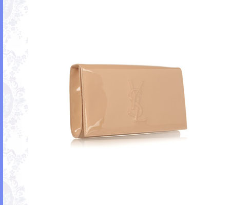 Grace Intemporelle: Saint Laurent, The Belle de Jour patent-leather clutch