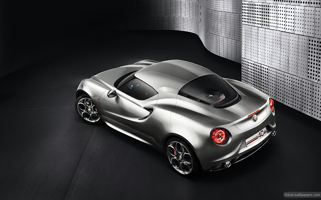 2013 Alfa Romeo 4c Concept 2 Wallpapers