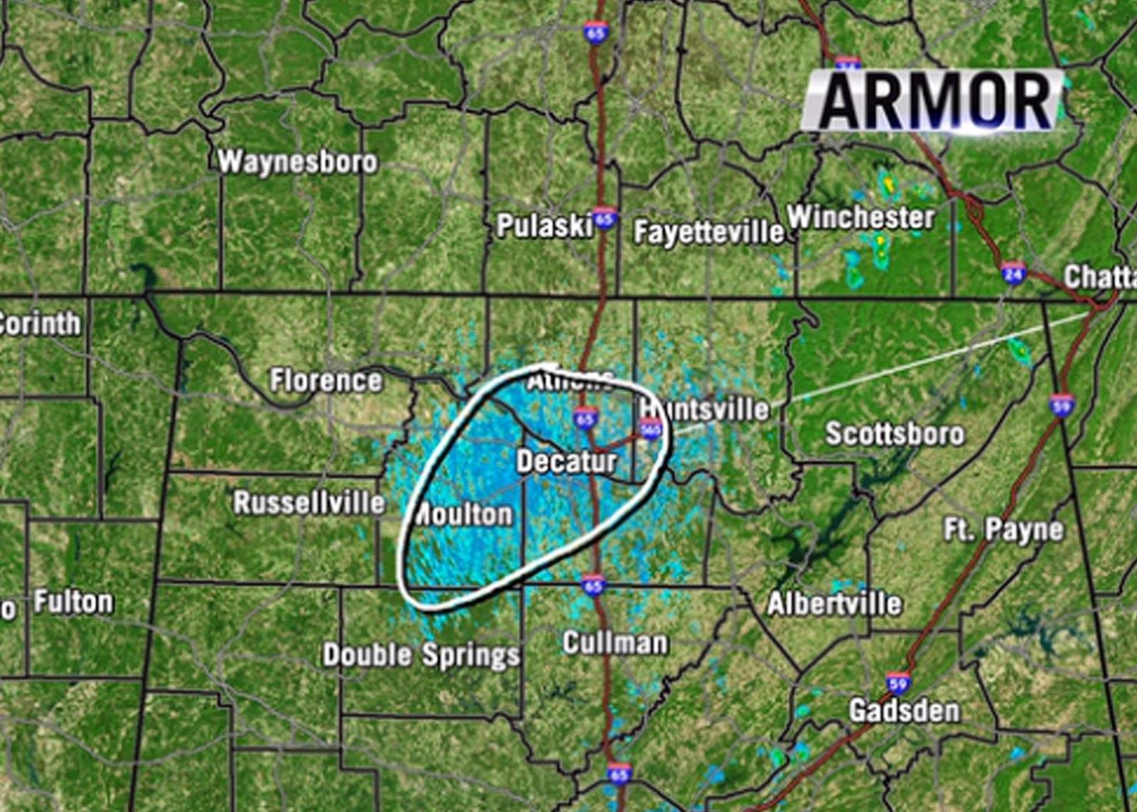 Weather Map Huntsville Al.Winston Web News Recent Al Weather Radar Oddity Was Mayfly Swarm