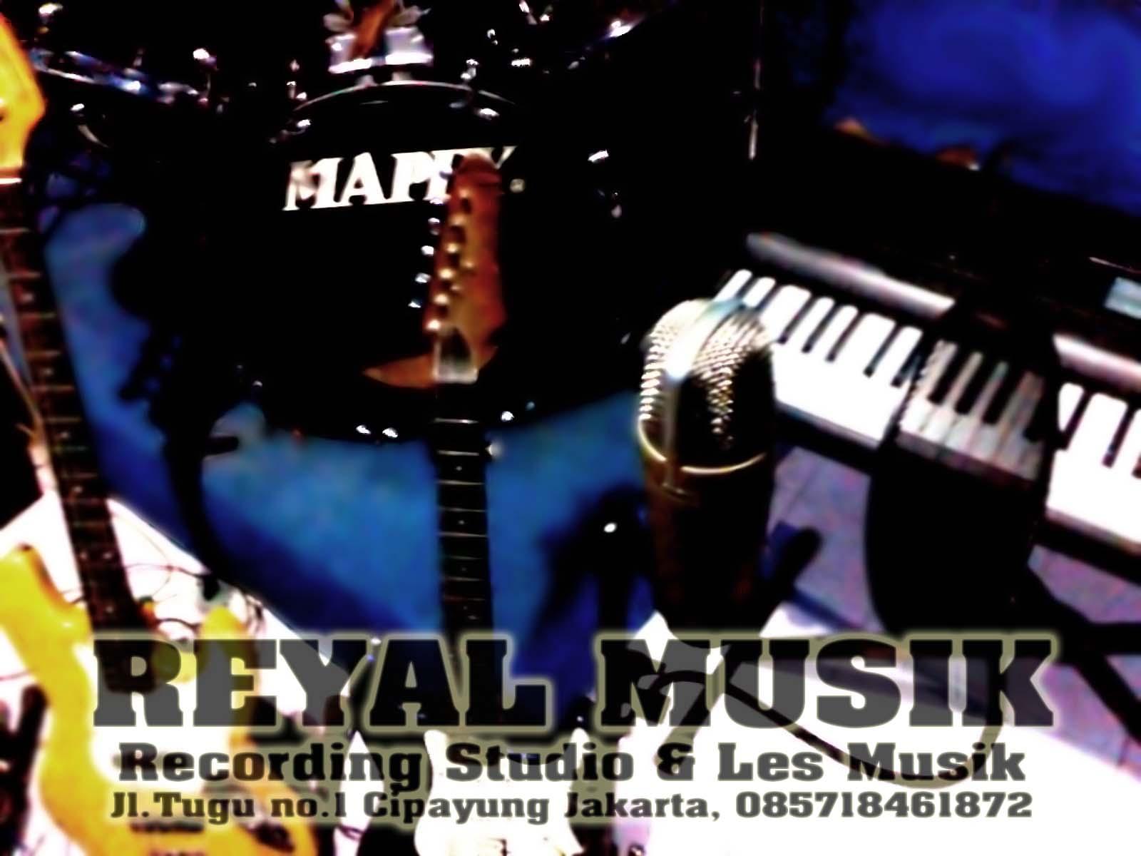 Studio Rekaman Amp Kursus Les Gitar Bass Piano Keyboard