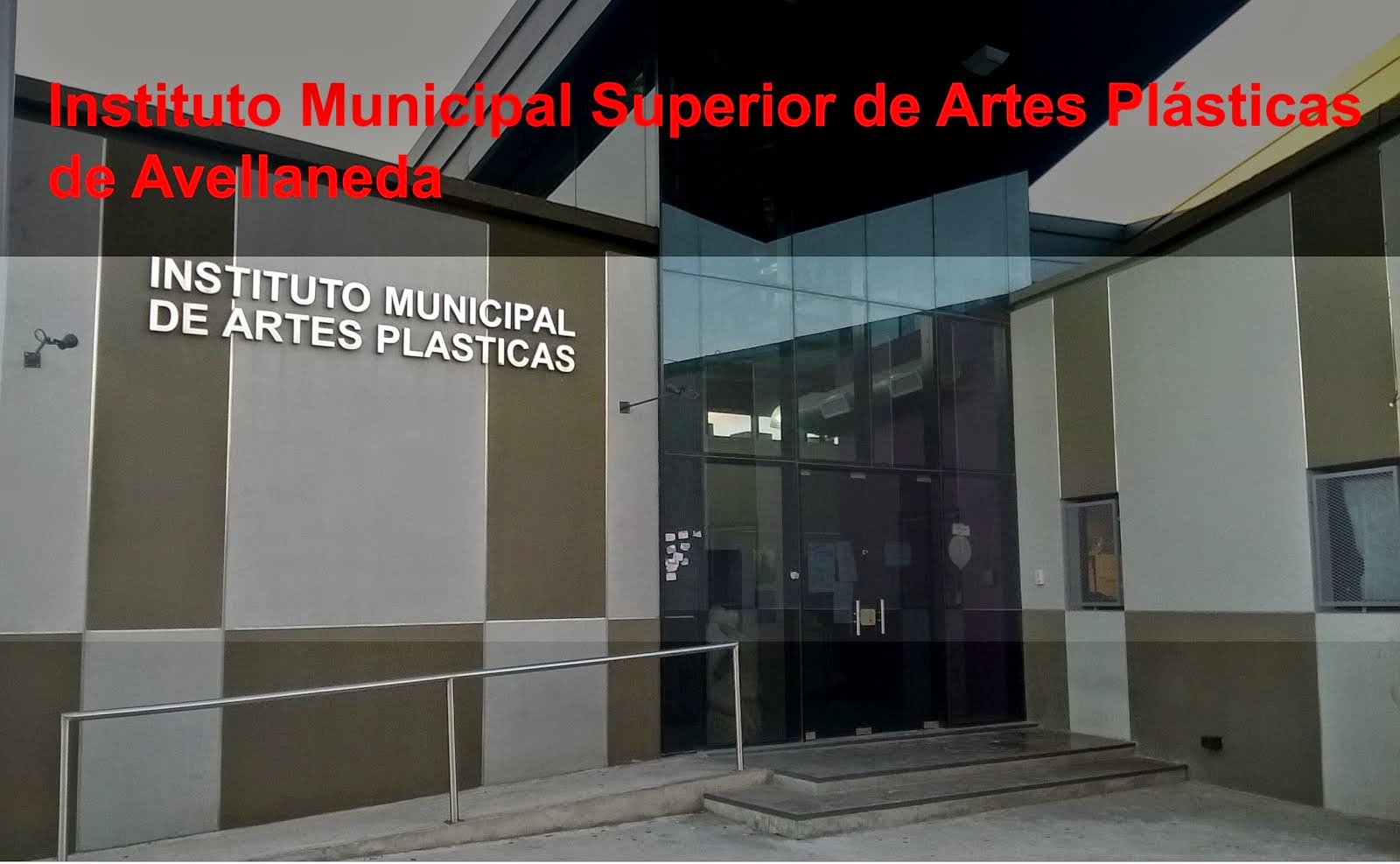 Instituto Municipal Superior  de Artes Plásticas de Avellaneda