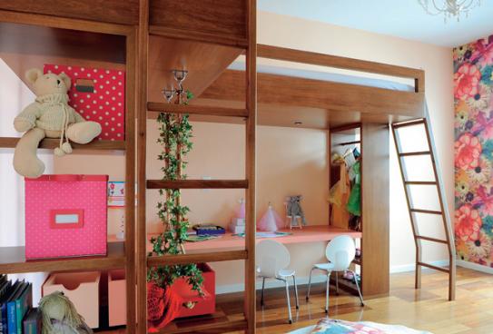 decoracao para ambientes muito pequenos:Casa da Sheila: Sem espaço no quarto das crianças: aposte nos