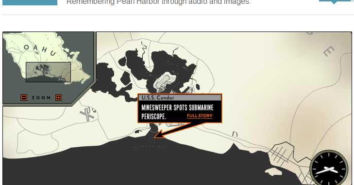 pearl harbor interactive map Students get an intimate view of the japanese attack on pearl harbor by attack on pearl harbor: an online learning activity through an interactive hour.